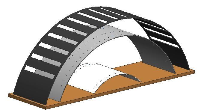 CAD-Baugruppe des CD-Ständers