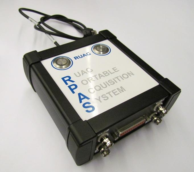 Fertiges Datenerfassungssystem RPAS
