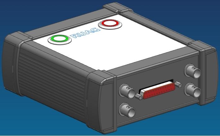 CAD-Baugruppe des Datenerfassungssystems RPAS (Vorderseite)