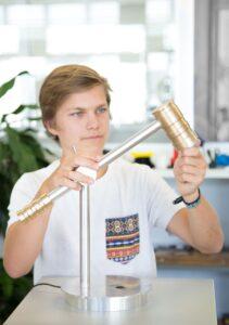 Projekt Tischlampe nach IPERKA: Kontrollieren (testen)